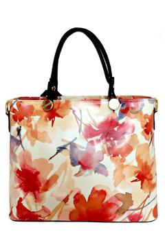 Leather Country Floral Leather Totes - Alternate List Image