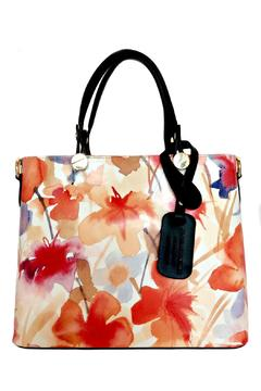 Leather Country Floral Leather Totes - Product List Image