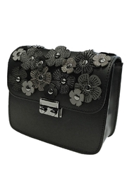 Leather Country Flower Leather Bag - Front full body