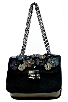 Leather Country Flower Leather Bag - Product List Image