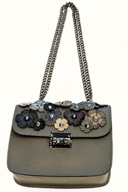 Leather Country Flower Leather Bag - Front cropped