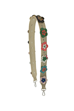 Leather Country Flower Leather Strap - Product List Image