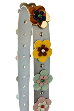 Leather Country Flower Leather Strap - Alternate List Image