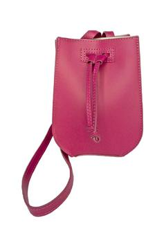 Leather Country Fuchsia Leather Bag - Product List Image