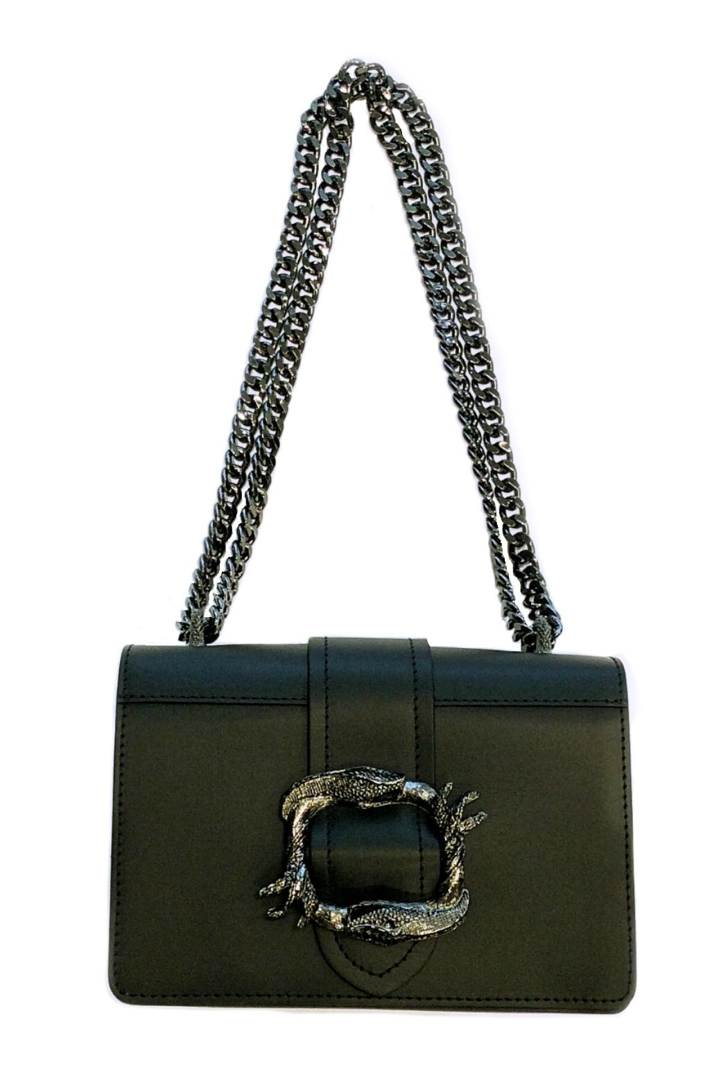 Leather Country Leather Shoulder Bag - Front Cropped Image