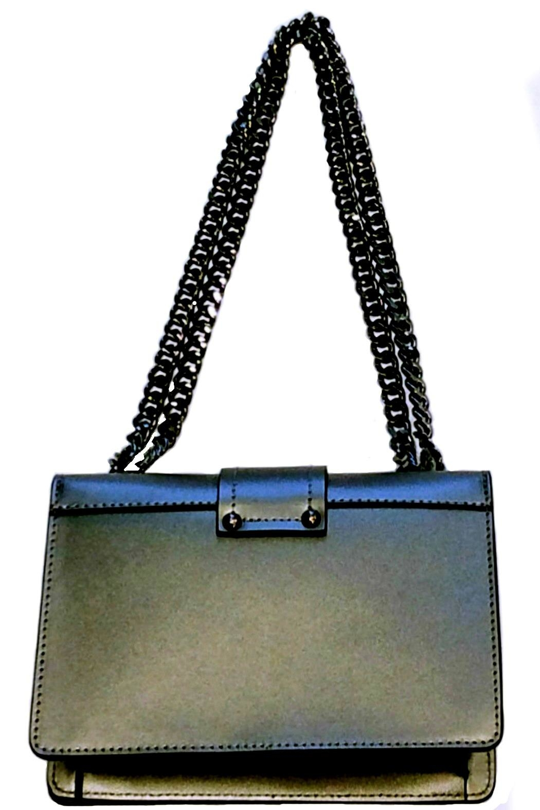 Leather Country Leather Shoulder Bag - Front Full Image