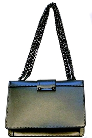 Leather Country Leather Shoulder Bag - Front full body