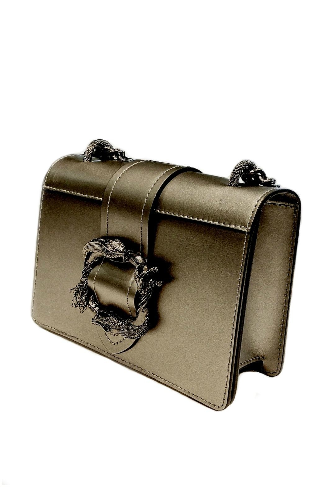 Leather Country Leather Shoulder Bag - Side Cropped Image