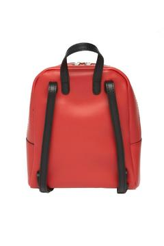 Leather Country Red Leather Backpack - Alternate List Image