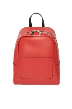 Leather Country Red Leather Backpack - Product List Image