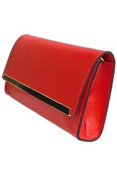 Leather Country Red Leather Clutch - Alternate List Image