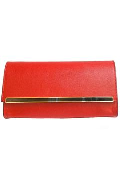 Leather Country Red Leather Clutch - Product List Image