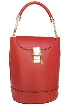 Shoptiques Product: Red Leather Bucket