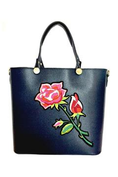 Leather Country Rose Leather Tote - Product List Image
