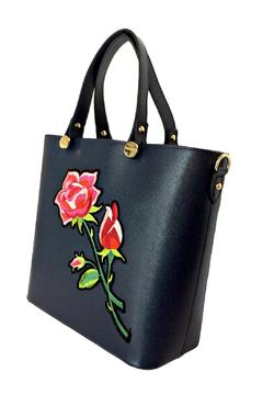 Leather Country Rose Leather Tote - Alternate List Image