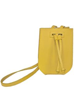 Shoptiques Product: Yellow Leather Bag