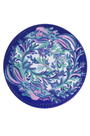 Lilly Pulitzer  Leatherette Coaster Set (6 Assorted) - Back cropped