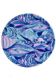 Lilly Pulitzer  Leatherette Coaster Set (6 Assorted) - Side cropped