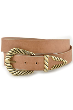Anzell Leatherette Western Belt - Product List Image