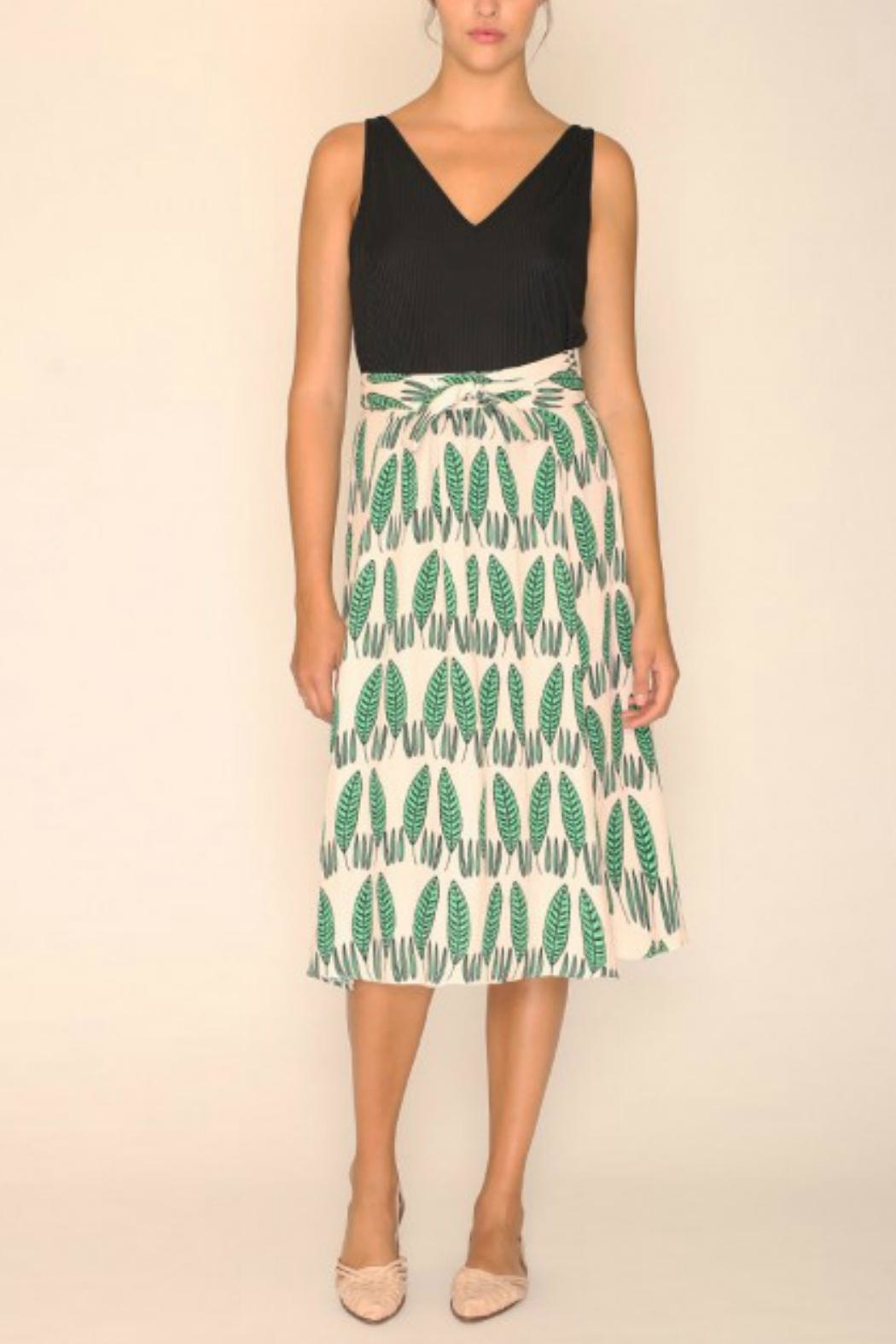 PepaLoves Leaves Skirt - Front Cropped Image