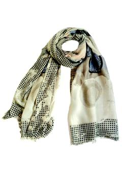 Shoptiques Product: Abstract Dots Scarf