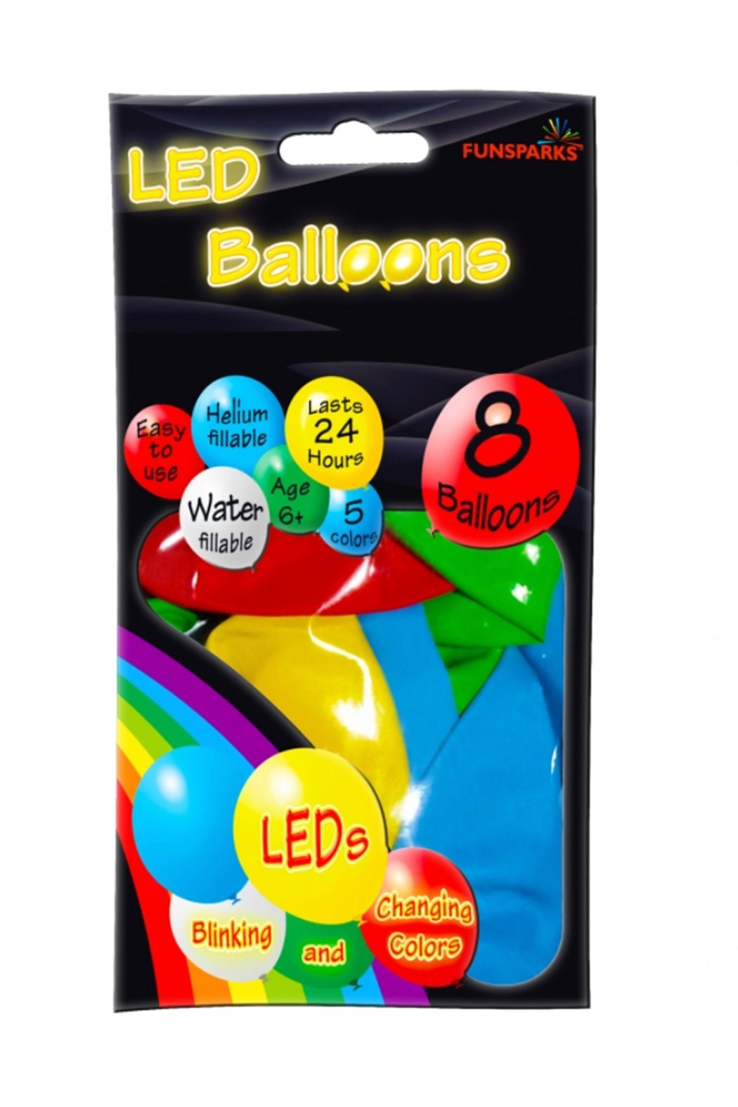 Funsparks LLC LED Balloons - Front Cropped Image