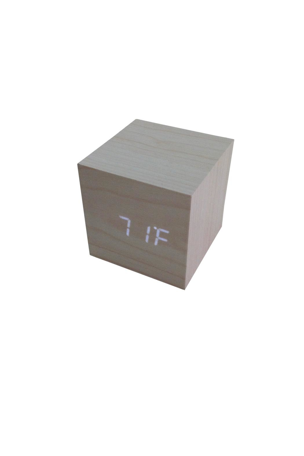 GHome2 Led Cube Clock - Side Cropped Image