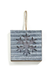 Gift Craft LED Snowflake ornament - Front cropped
