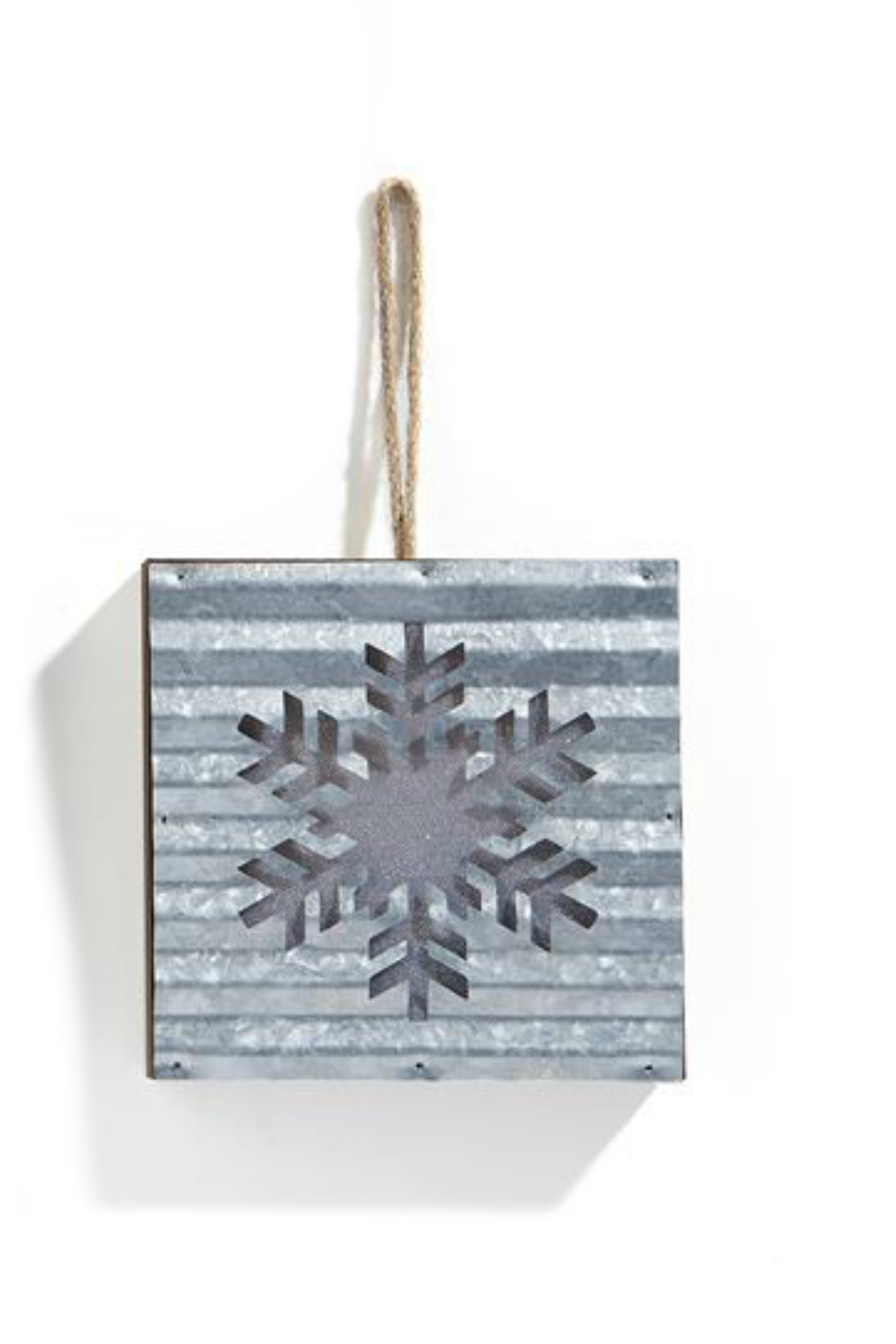 Gift Craft LED Snowflake ornament - Front Cropped Image