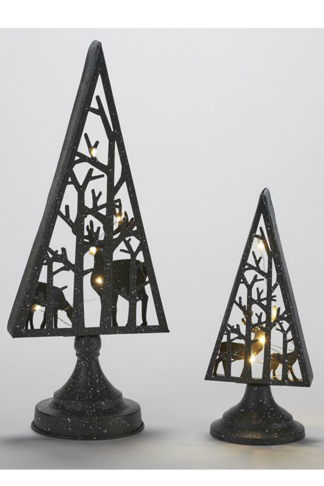 Gift Craft LED Tree/Reindeer Decor-Small - Front Full Image