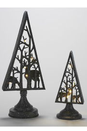 Gift Craft LED Tree/Reindeer Decor-Small - Front full body