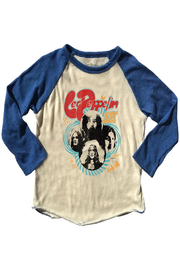 Rowdy Sprout Led Zeppelin Raglan Tee - Product Mini Image