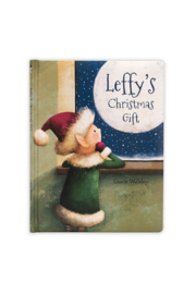 Jellycat LEFFY'S CHRISTMAS GIFT BOOK - Front cropped