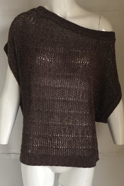 Left on Houston Boat-Neck Knit Sweater - Front cropped