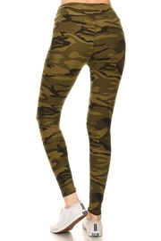 Leg Avenue Camoflauge Yoga Pants - Front full body