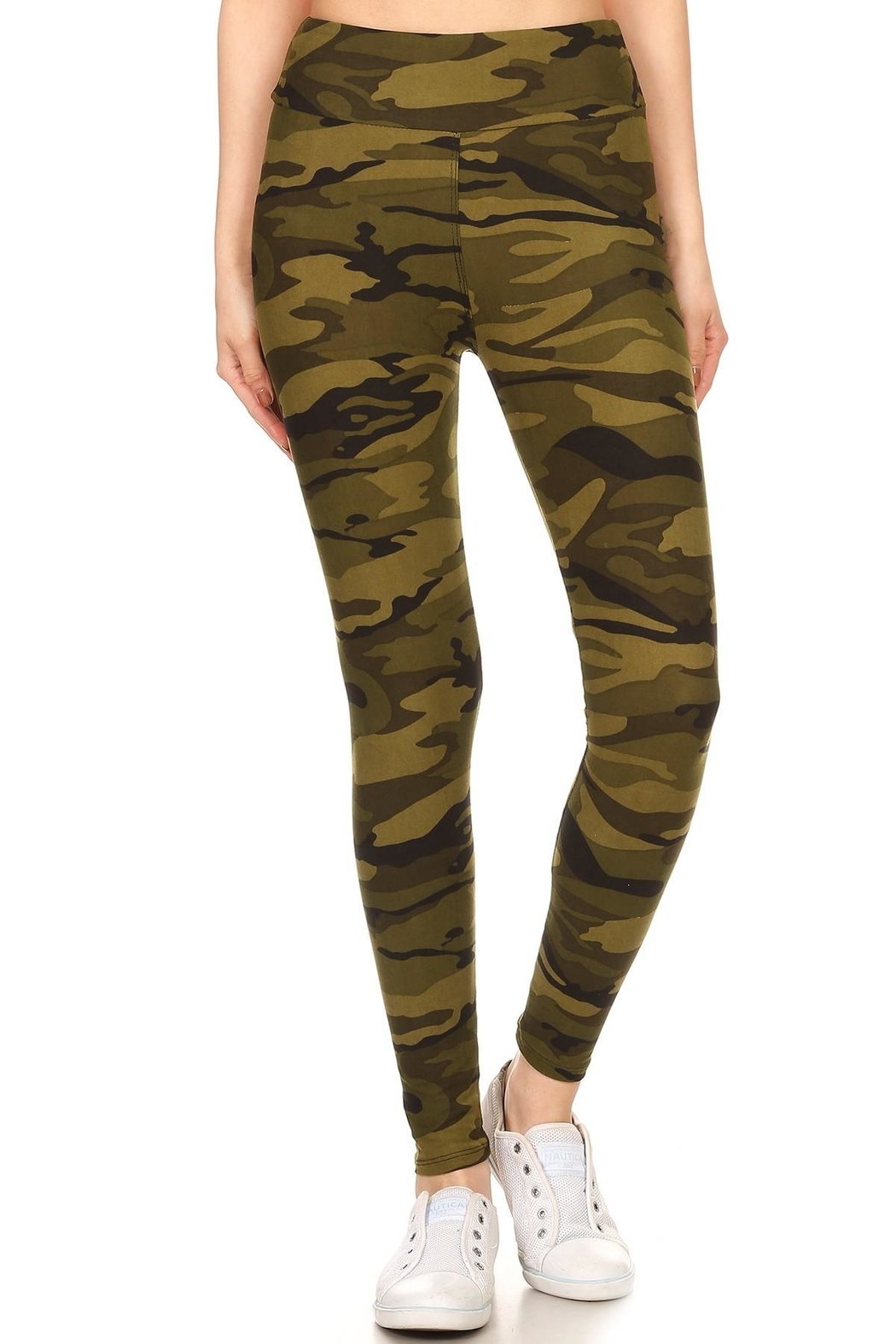 Leg Avenue Camoflauge Yoga Pants - Main Image