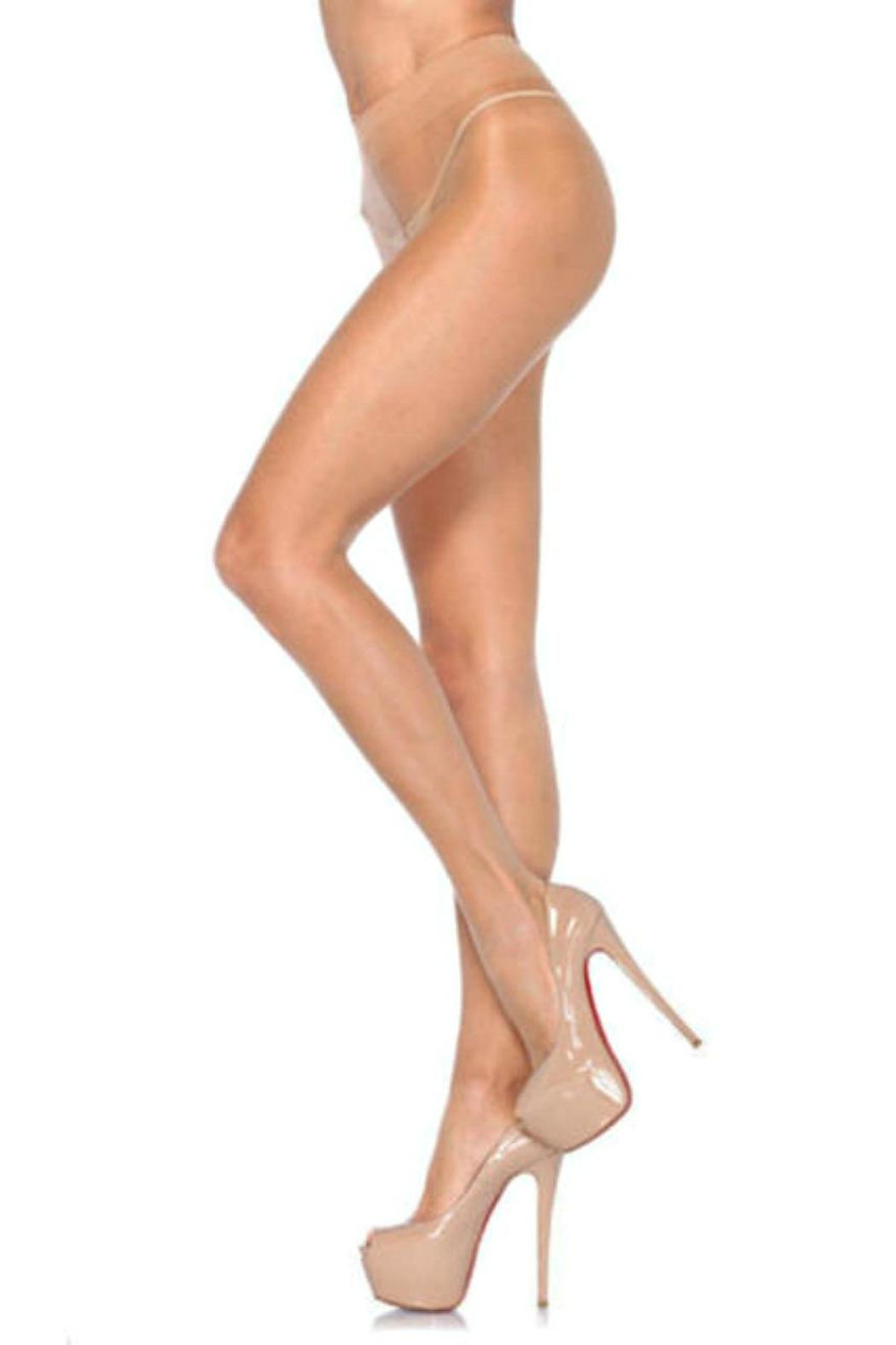 Leg Avenue Sheer To Waist Pantyhose - Main Image