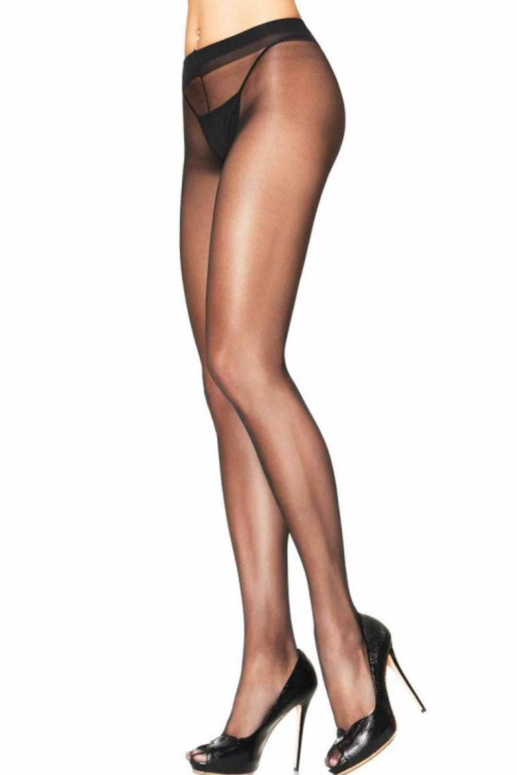 Leg Avenue Sheer To Waist Pantyhose - Front Cropped Image