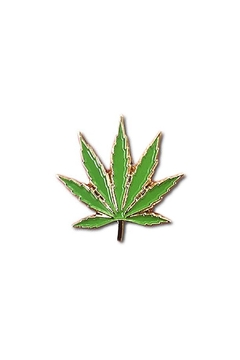 The Found Legalize Marijuana Pin - Alternate List Image