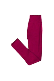 Yahada Leggings Fleece Burgundy - Product Mini Image