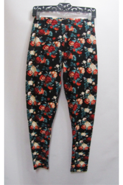 Magic Scarf Leggings - Floral - Product Mini Image