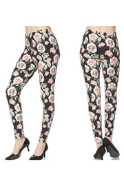 KIMBALS Leggings - Floral Pinks - Product Mini Image