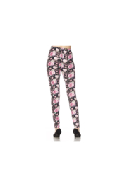 Magic Scarf Leggings - Pink Floral - Product Mini Image