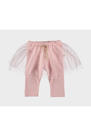 Petit Indi Leggings With Tulle - Front cropped