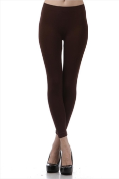 LEGGINGS MANIA Nylon Basic Leggings - Product List Image