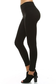 LEGGINGS MANIA Soft Leggings With Wide Band - Front full body