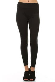 LEGGINGS MANIA Soft Leggings With Wide Band - Side cropped