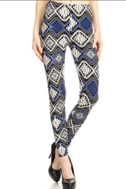 LEGGINGS MANIA Tribal Pattern Leggings - Product Mini Image
