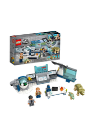 LEGO Jurassic World Dr. Wu's Lab: Baby Dinosaurs Breakout - Product Mini Image