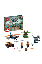 LEGO Jurassic World Velociraptor: Biplane Rescue Mission - Product Mini Image